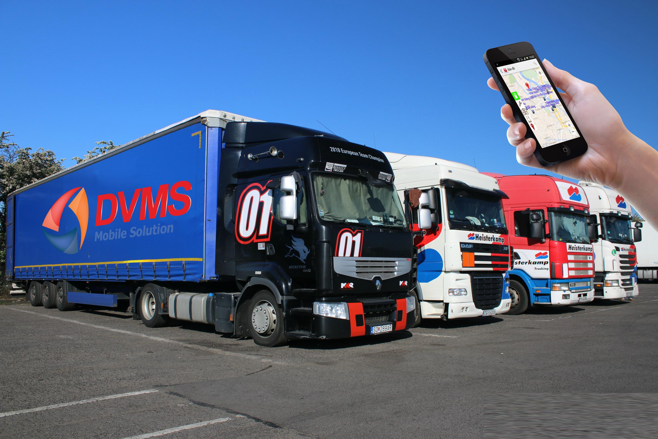 Ứng dụng quản lý vận tải trên smartphone